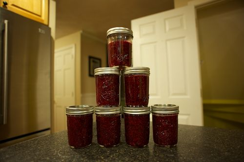 Raspberry jam final batch